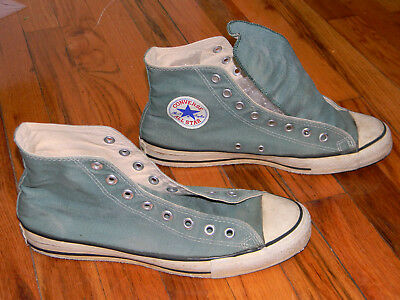 237b3f7bbf0cb VINTAGE CONVERSE ALL Star Chuck Taylor shoes green size 9
