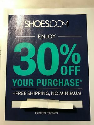30% Off Your Purchase at Shoes.com Coupon Code Exp 3/15/19