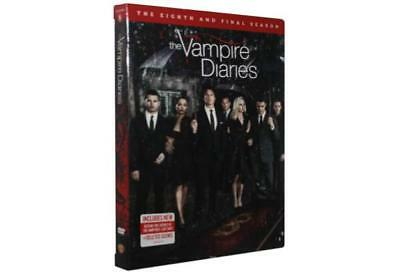 The Vampire Diaries: The Eighth and Final Season TV (DVD, 2017) New Sealed