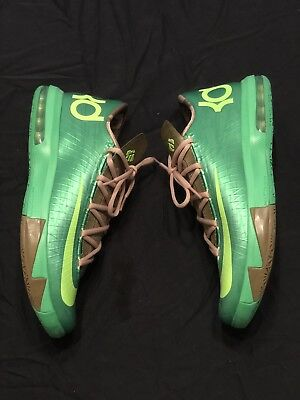new concept 70664 08df7 Nike KD 6 VI Bamboo Size 10 Green Mens Kevin Durant