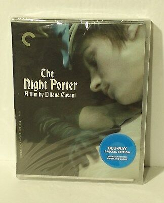 The Night Porter Blu-ray Disc, 2014, Criterion Collection NEW AUTHENTIC REGION A