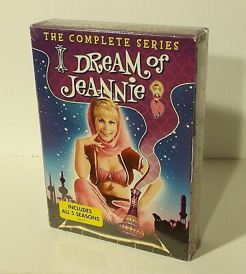 I Dream of Jeannie: The Complete Series Boxset (DVD, 2013, 20-Disc Set) NEW NEW