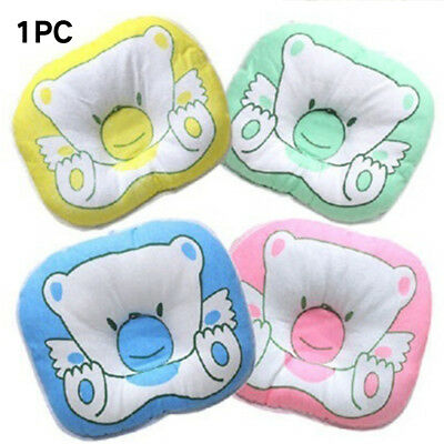 Baby Newborn Infant Bear Pillow Support Cushion Prevent Flat Head Positioner