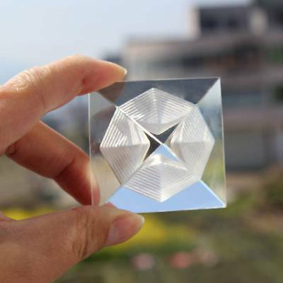 3D Crystal Egypt Pyramid Paperweight 4 cm Egyptian Building Model Decor Ancient