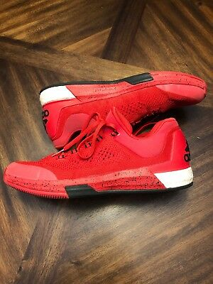 brand new 87044 a5861 Adidas Crazylight Boost Primeknit Size 16 Red Black Harden 2015 Low  Basketball
