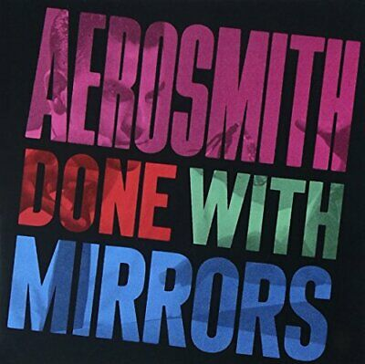 Aerosmith - Done W/Mirrors - Aerosmith CD Y5VG The Cheap Fast Free Post The