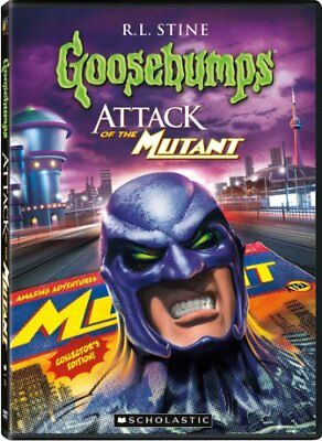 Goosebumps: Attack of the Mutant Part 1 & 2 [DVD] [Region 1] [US ... - DVD  M0VG