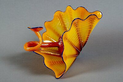 Dale Chihuly - Wild Poppy Persian Set Contemporary Glass Art