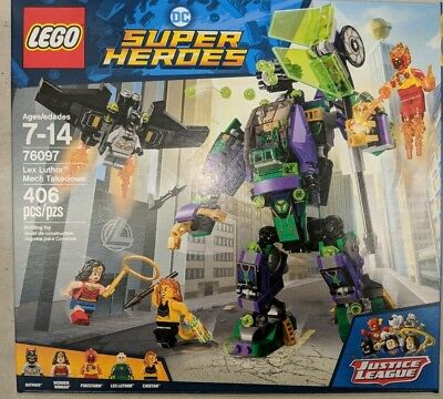 LEGO DC Comics Super Heroes Lex Luthor Mech Takedown #76097 |BRAND NEW SEALED