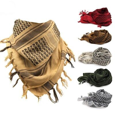 AU Army Military Desert Tactical Arab Shemagh KeffIyeh Shawl Scarf Scarves Wrap