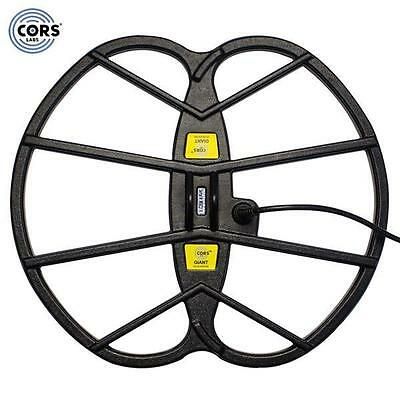 """CORS Giant 15""""x17"""" DD Search Coil for Teknetics T2 Metal Detector with Cover New"""