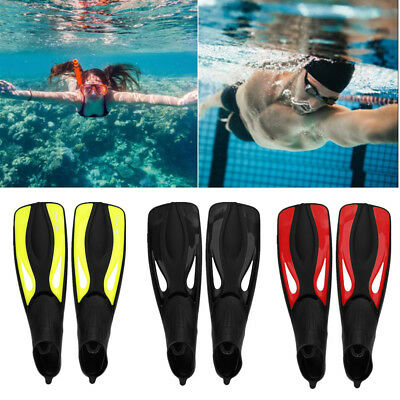 Adult Scuba Flippers Snorkeling Swim Fins Diving Foot Flippers Swimming Training