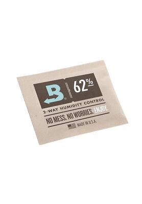 Boveda Packs 62% Hygro Befeuchter Luftfeuchtigkeit Humidor Curing Grow TOP