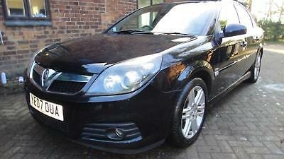 2007 VAUXHALL VECTRA 1.8i VVT ( 140ps ) SRi 5DR HATCH BLACK MET*AIRCON*CD*ABS*EW