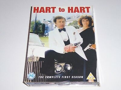 Hart To Hart - The Complete First Season 1 - GENUINE UK 6x DVD SET - Series One