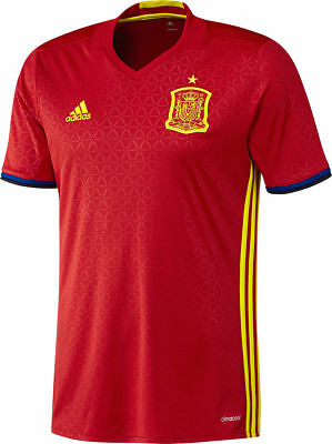 FEF Spain home football jersey Adidas AI4411 in Small, XL and XXXL (RRP £80 new)