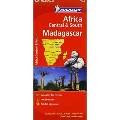 Michelin Map No. 746 Africa/ Central and South Madagascar