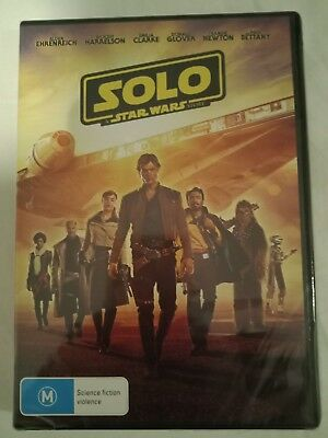 Solo A Star Wars Story BRAND NEW R4 DVD