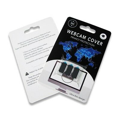 Webcam Cover Ultra Thin, Multipack of 3 For Laptops,Mobile Phones & Tablets