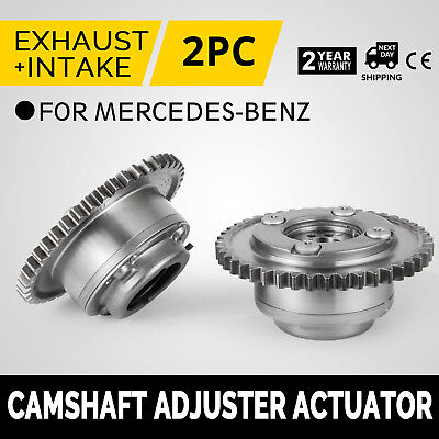 HQ 2x Camshaft Adjuster Actuators For Mercedes W204 C250 A2710502747 02-14 Work