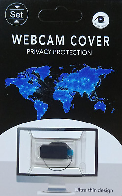 Webcam Cover Ultra Thin, Pack of 1 BLACK For Laptops,Mobile Phones & Tablets