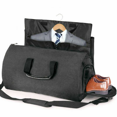 Travel Garment Bag Convertible Carry On Suit Bag Luggage Duffel Storage Tote NEW