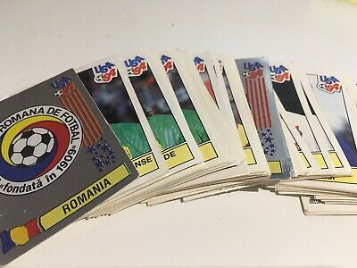Panini Lot Stickers X10 - World Cup Usa 94 - Coupe Du Monde 1994 - Original Foot