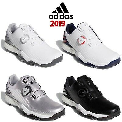 more photos 20cd9 cd271 adidas 2019 adipower 4orged Boa Wide Fit Golf Shoes