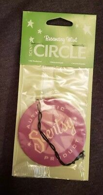Scentsy Scent Circle Air Freshener Rosemary Mint New Sealed