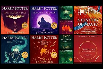 Harry Potter Collection -10 Audiobooks on 16GB USB Flash Drive