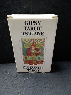 Gypsy-Tarot Tsigane Zugeuner Walter Wegmuller Complete 78 Cards, Booklet and Box