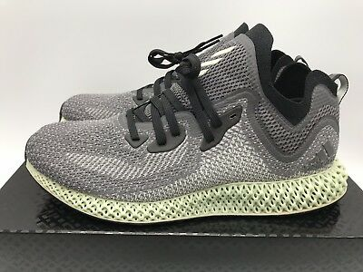 watch 4a4a8 09746 Adidas Alphaedge 4D LTD ASW Size 10 Preowned Authentic AC8485 Futurecraft  Black