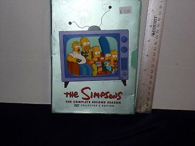 The Simpsons - The Complete Second Season (DVD, 2012, 4-Disc Set)