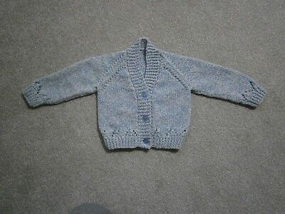 2038a86a1 NEW HAND KNITTED Baby Boy Cardigan - up to 3 months (14lbs) - EUR 6 ...