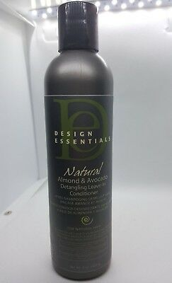 Design Essentials Natural Almond Avocado Shampoo Sulfate Free 8oz