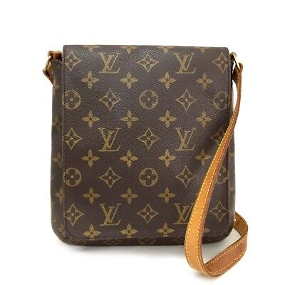 1c476d767f6c 100% Auth Louis Vuitton Monogram Musette Salsa Shoulder Bag Purse  c545