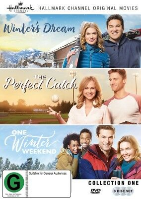 Hallmark Collection Winter's Dream/the Perfect Catch/one Winters Weekend (3Dvd)