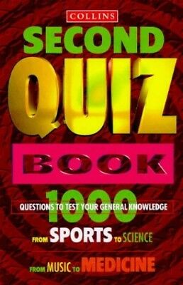 Collins Second Quiz Book by Shaw, Carol P. Paperback Book The Cheap Fast Free