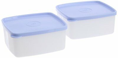 Tupperware Small Cool N Fresh Set, 450ml, Set of 2 - Multicolor Free Shipping