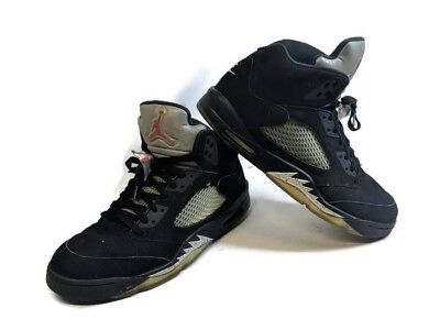 best sneakers 24195 9e8fb Nike Air Jordan 5 Retro Size 13 OG Black Metallic 2016 (845035-003)