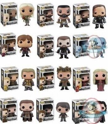 Funko Pop Game of Thrones Complete All Series 1 & 2 Hound Ned Snow Robb Renly