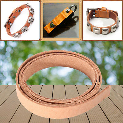 100cm DIY Veg Tanned Full-Grain Belt Blank Leather Strip Strap backpack 40''