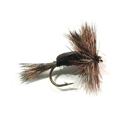 Eliteflies 6 Competition Picric Yellow Humpy dry fly fishing flies river lake