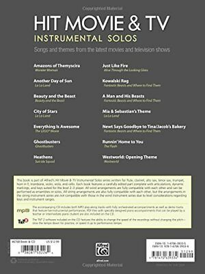 HIT MOVIE & TV Instrumental Solos for French Horn Sheet