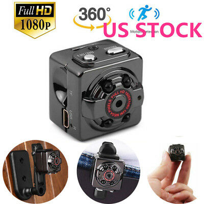 US Mini Hidden Spy Digital Camera Wireless HD 1080P Video Motion Activated Cam