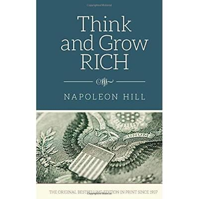 Think and Grow Rich - Hardcover NEW Napoleon Hill(A 8 Dec. 2015