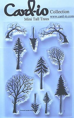 CARD-IO A6 COMBINATIONS COLLECTION Clear Stamps WINTER SCENE CCSTWIN-15