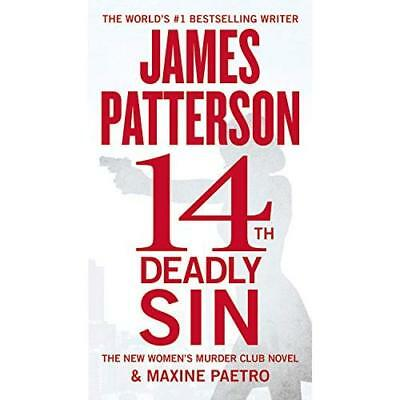 14th Deadly Sin (Women's Murder Club) - Hardcover NEW James Patterson 2015-05-04