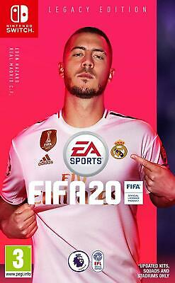 New FIFA 20 Nintendo Switch Legacy Edition EA Sports UK PAL Football Soccer Game