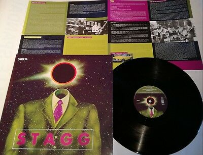 """LP STAGG """"SWF-Session 1974"""" LONG HAIR MUSIC LHC215 - STILL SEALED"""